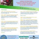 Jornadas sobre los Derechos Humanos en las Universidades de Burgos y Valladolid